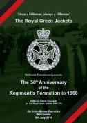 DVD-The 50th Anniversary of the Regiment's Formation in 1966